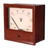 Волтметър, 250 VAC, ЕТ144, с размери 80x144x144, аналогов