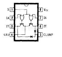 Интегрална схема 75479,  TTL съвместим, DUAL PERIPHERAL DRIVERS, DIP8 - 2