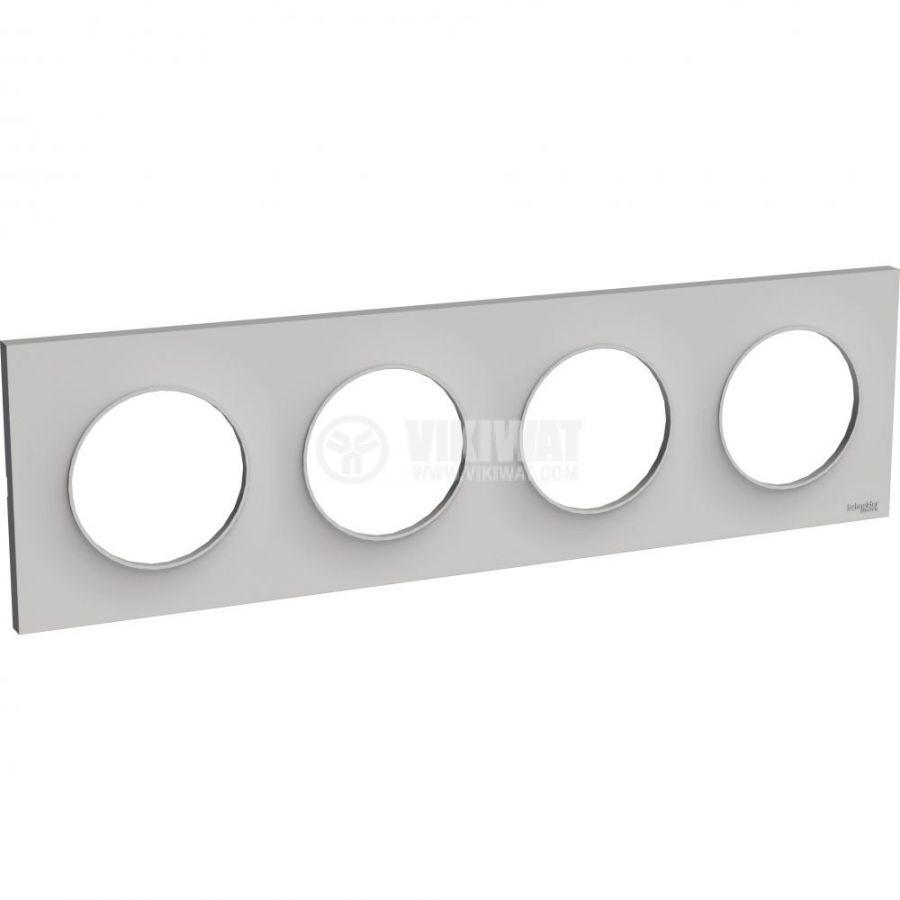 Декоративна рамка, четворна, камък, ABS, S520708B1