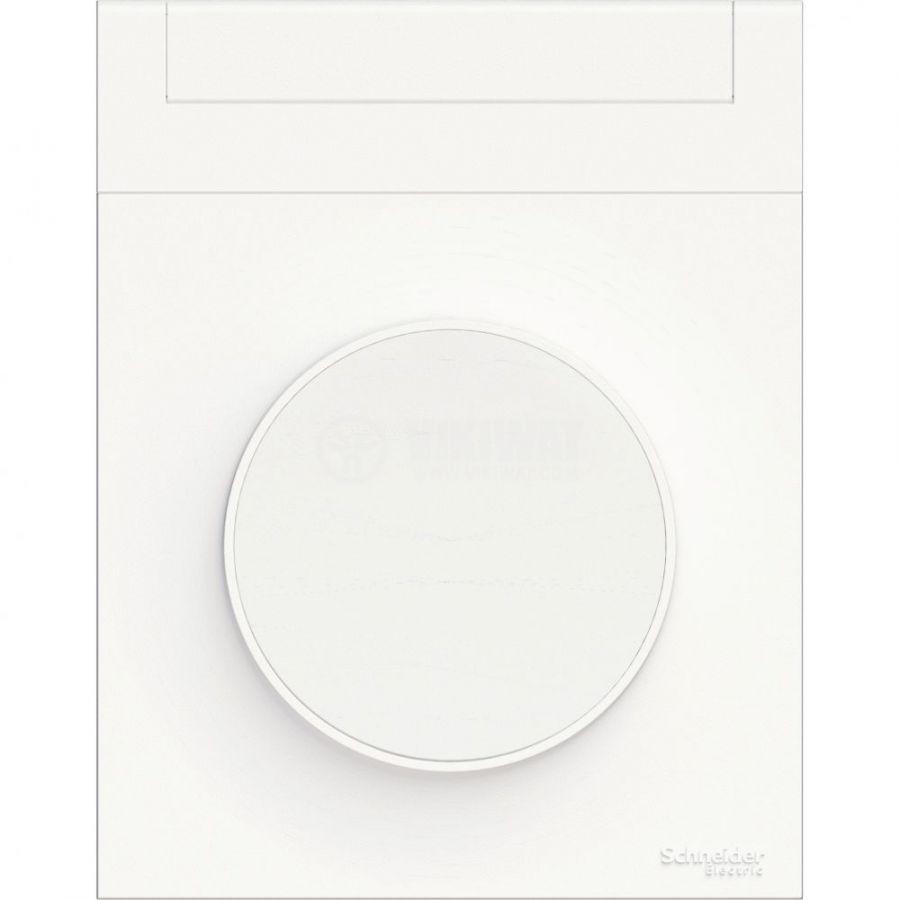 Декоративна рамка, единична, бял, ABS, S520732