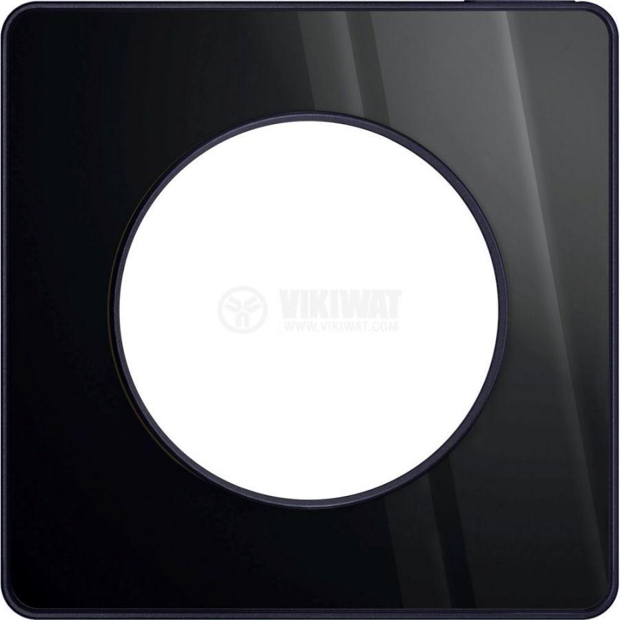 Декоративна рамка, единична, опушено огледало/антрацит, PC/алуминий, S540802K1