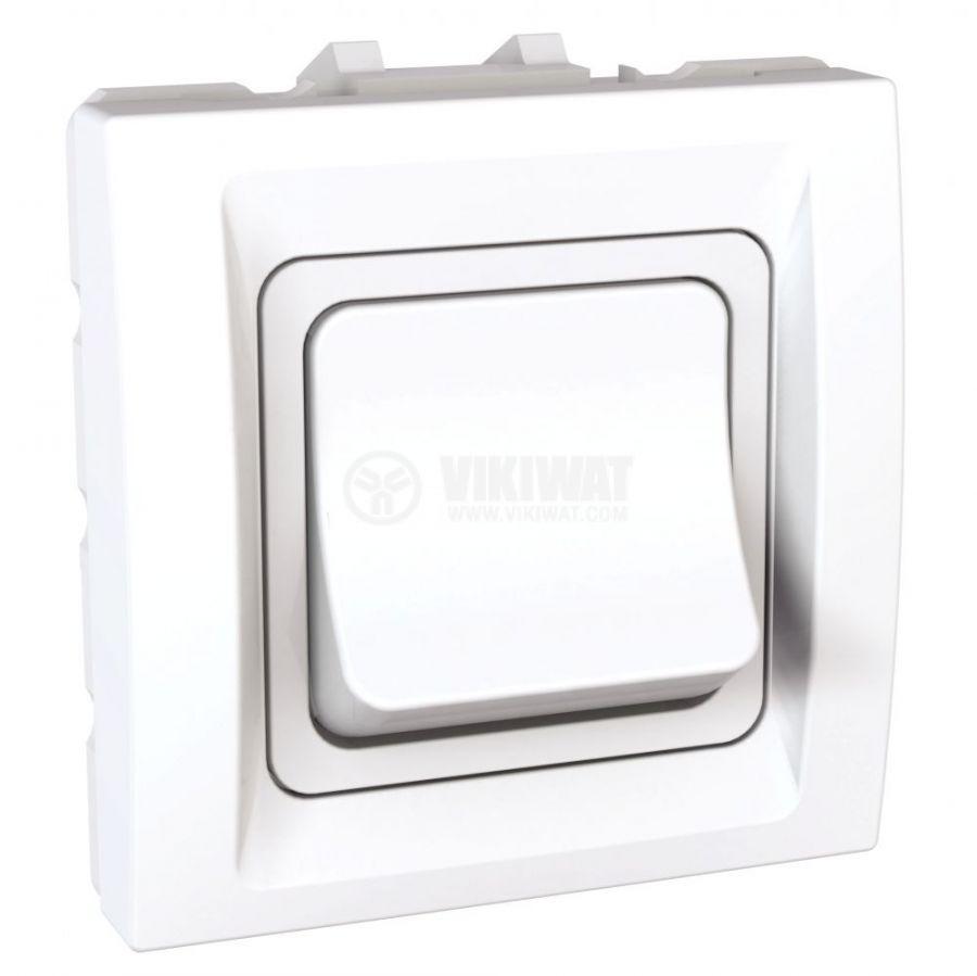 Електрически ключ сх.1 единичен, 32A, 250VAC, за вграждане, бял, MGU3.231.18