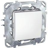 Електрически ключ сх.1 единичен, 10A, 250VAC, за вграждане, бял, MGU50.201.18Z