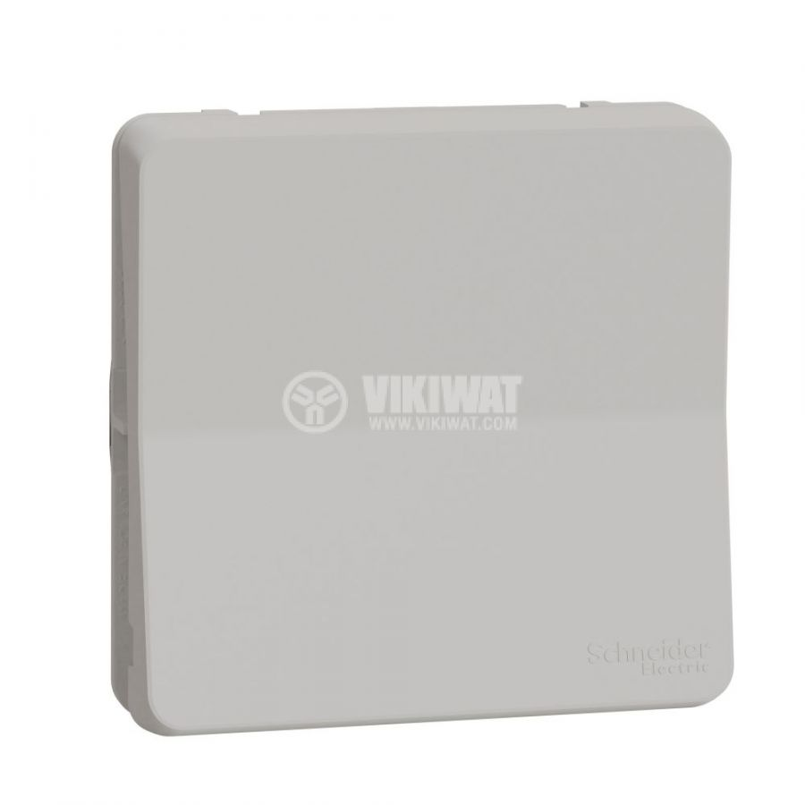 Електрически ключ сх.5 (сериен) единичен, 16A, 230VAC, за вграждане, бял, MUR39033