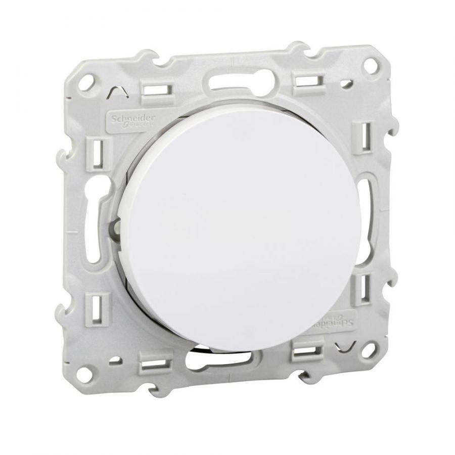 Електрически ключ сх.6 девиаторен, 10A, 250VAC, за вграждане, бял, S520263