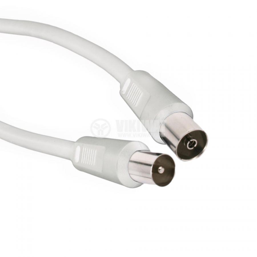 Коаксиален кабел с накрайници, RF/m-RF/f, 7.5m