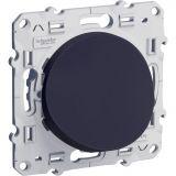 Електрически контакт, 16A, 250VAC, единичен, черен, за вграждане, твърда връзка, S540662