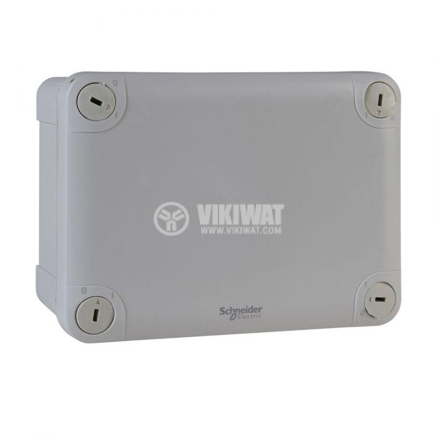 Кутия разклонителна, 164x121x87mm, повърхностен, ABS, сив, ENN05047