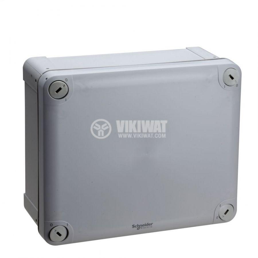 Кутия разклонителна, 193x164x88mm, повърхностен, ABS, сив, ENN05050
