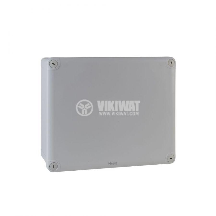 Кутия разклонителна, 292x242x128mm, повърхностен, полипропилен, сив, ENN05057