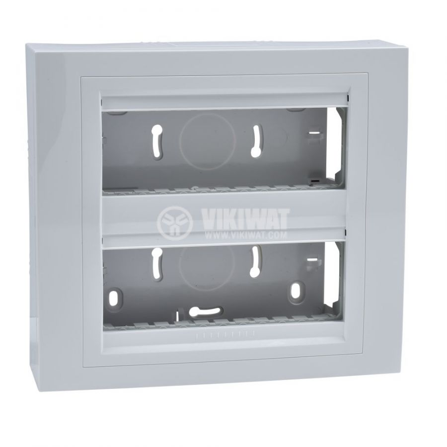 Кутия конзолна, 206x186x58.98mm, повърхностен, ASA, бял, U22.226.18