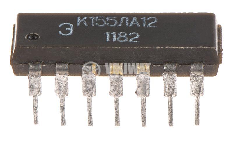 Интегрална схема К155ЛА12/7437 - 2