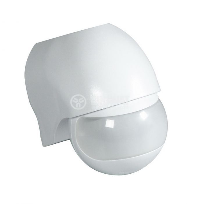 PIR шалтер, сензор, 230VAC, 1200W, 180°, 12m, COMMEL C310-101