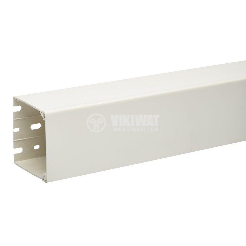 Кабелен канал 60x60x2000mm, PVC, ETK60360