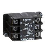 Contact block XENG1191, 3A/240VAC, 2xNO+NC