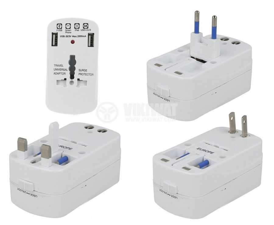 Турстически адаптер V-TAC 8704 - 1