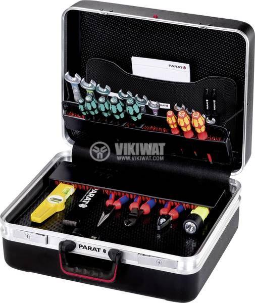 Куфар за инструменти CLASSIC Deep Space, CP-7 за 45 инструмента, 490x470x230mm, ABS - 3