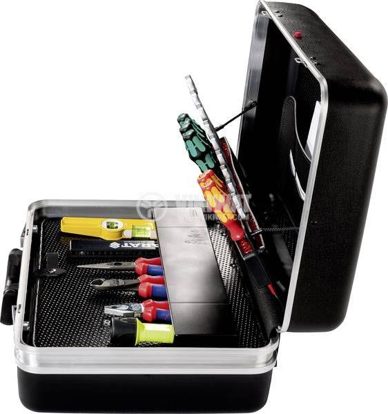 Куфар за инструменти CLASSIC Deep Space, CP-7 за 45 инструмента, 490x470x230mm, ABS - 4