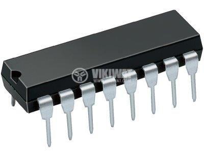 Интегрална схема 74S85, TTL серия S, 4-BIT MAGNITUDE COMPARATORS, DIP16 - 1
