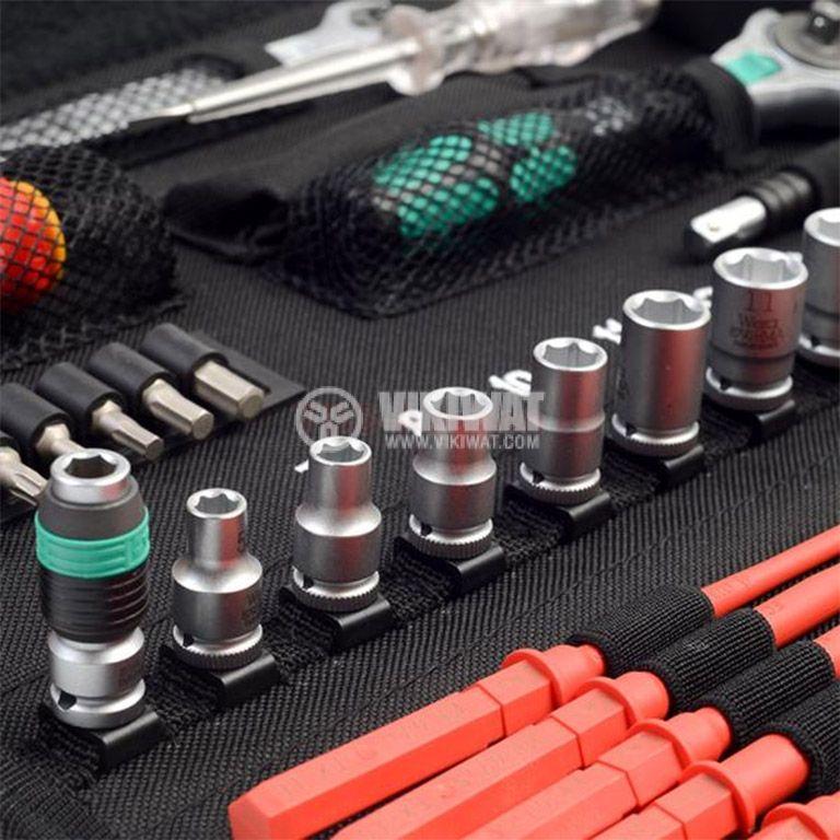 Комплект инструменти гедоре 35 части WERA Kraftform Kompakt W1  - 4