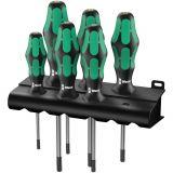 Set screwdrivers WERA 367/6 TORX® BO