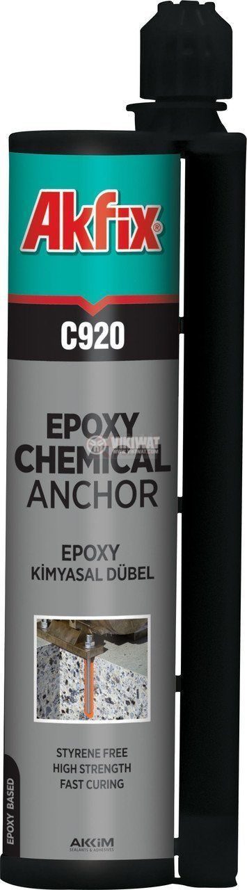 Лепило химически анкер Akfix C920 без стирен 345ml