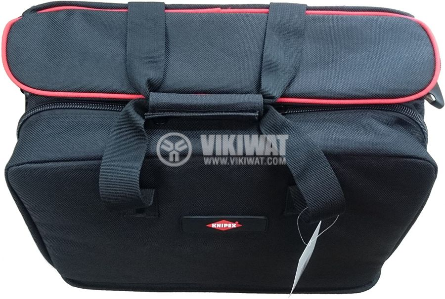 Tool bag and laptop KNIPEX 00 21 10 LE 440x340x200mm textile - 4