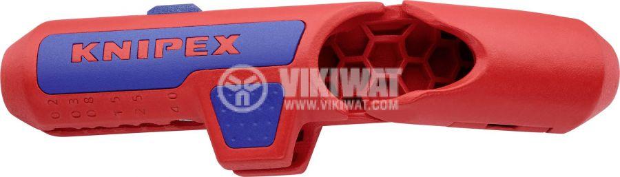 Инструмент за оголване на кабели 0.2-4mm2 KNIPEX 16 95 01 SB - 1