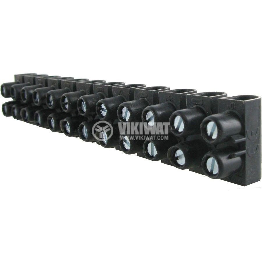 Luster terminal polypropylene 12-pole 10mm2 57A 250V