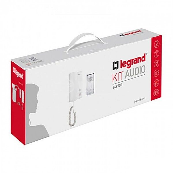 Аудио домофон комплект, 369500, IP54, Legrand - 3