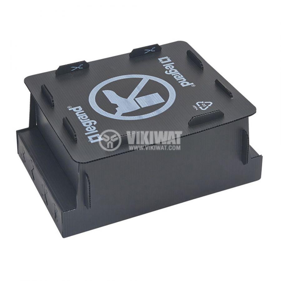 Конзола за замазка за 12 модулна подова кутия 245x225x80mm LEGRAND 0 881 70