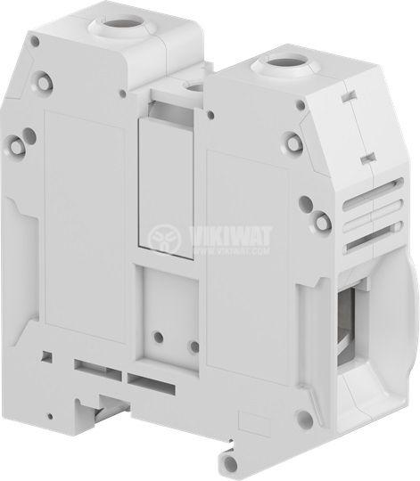 Редова клема едноредова ZS70 192A 1000V 70mm2 сива