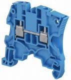 Редова клема едноредова ZS16-BL 76A 600V 16mm2 синя