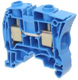 Редова клема едноредова ZS25-BL 76A 600V 25mm2 синя