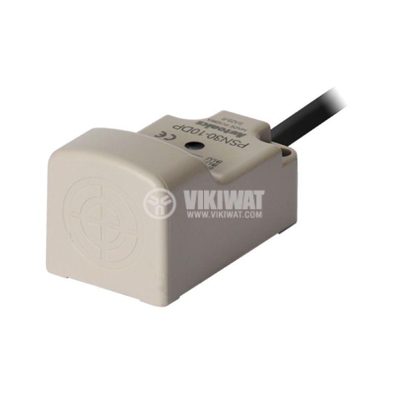 Индуктивен датчик PSN30-10DP, 10~30VDC, NO, PNP, 10mm, 30x30x53mm, екраниран - 1