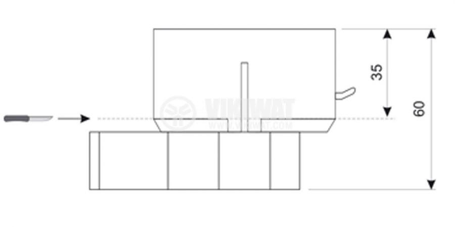 Универсална кутия конзола за стени от гипсокартон - 2