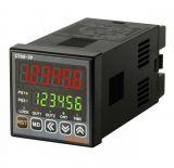 Брояч на импулси/време, CT6S-2P2, електронен 24~48VDC/24VAC, 2xNPN/PNP, 0,001s до 99999.9h / от 0 до 999999