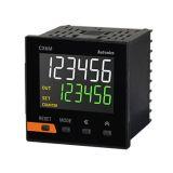 Брояч на импулси/време, CX6M-2P2, електронен 24~48VDC/24VAC, 2xNPN/PNP, 0,001s до 99999.9h / от 0 до 999999