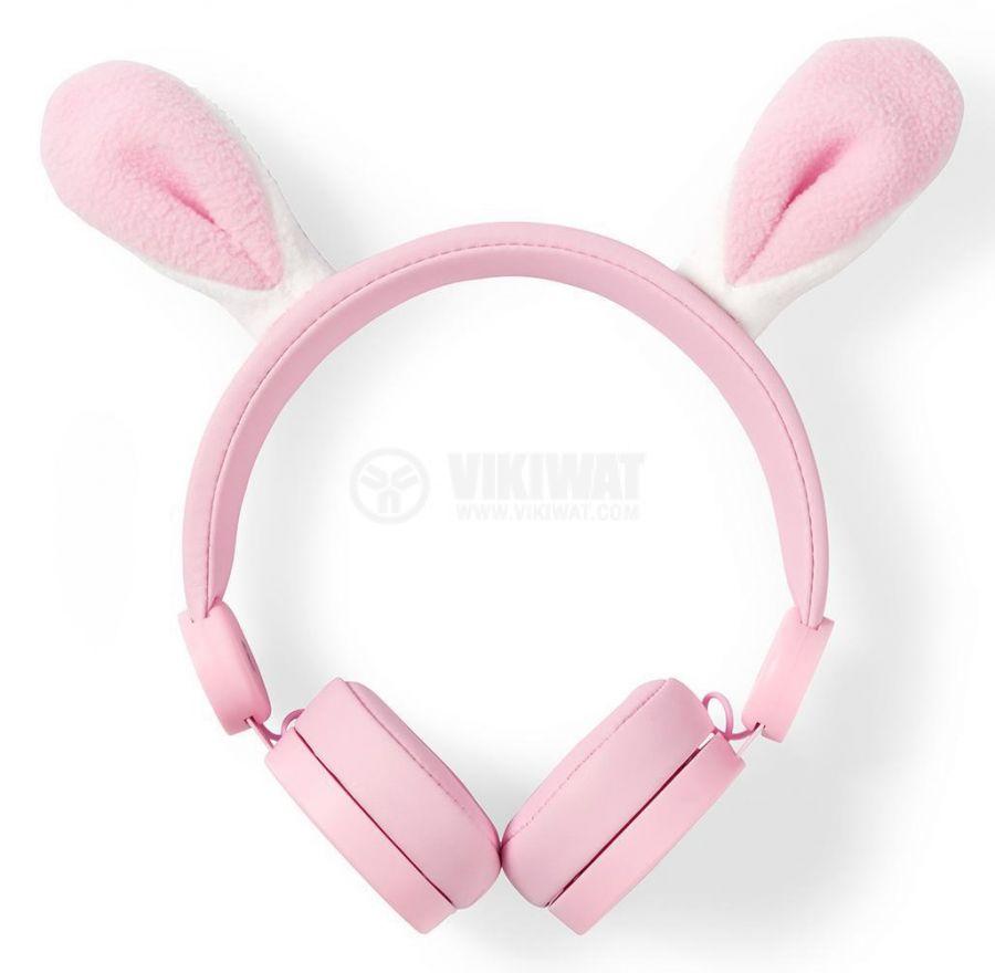 Слушалки с магнитни уши на заек - 1