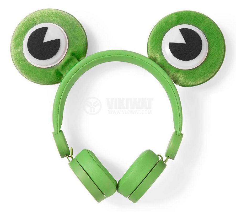 Слушалки с магнитни уши и очи на жаба - 1