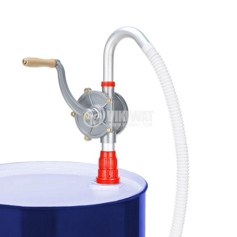 Ротационна помпа за варели неръждаема 1250mm 40l/min Troy 29000 - 4