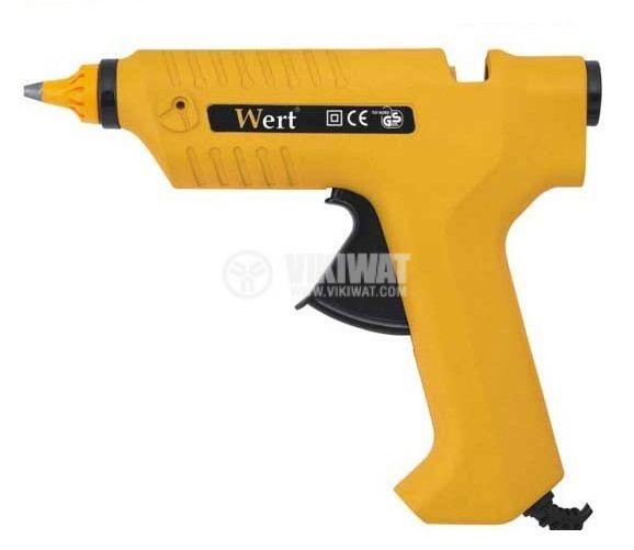 Пистолет за топъл силикон Wert 1932 220V 80W