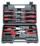 Tools set screwdrivers pliers inserts and bits 45 parts Wert 2245