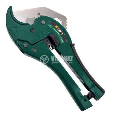 Ножица за PVC тръби до ф42mm TROY T 27043