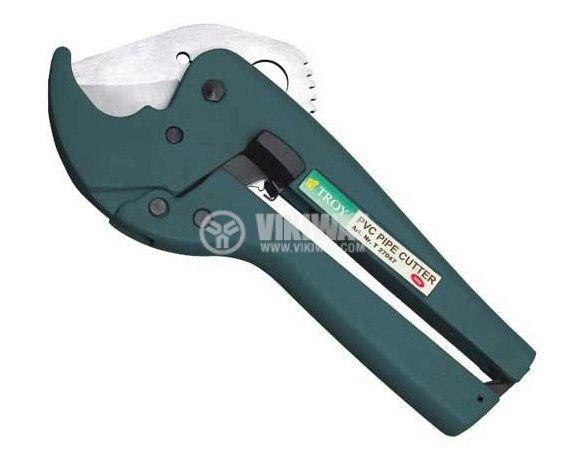 Ножица клещи за PVC тръби до ф42mm TROY T 27047