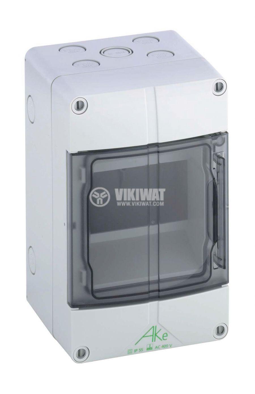Апартаментно табло 73560501 5 модула за вътрешен монтаж IP55 бял цвят