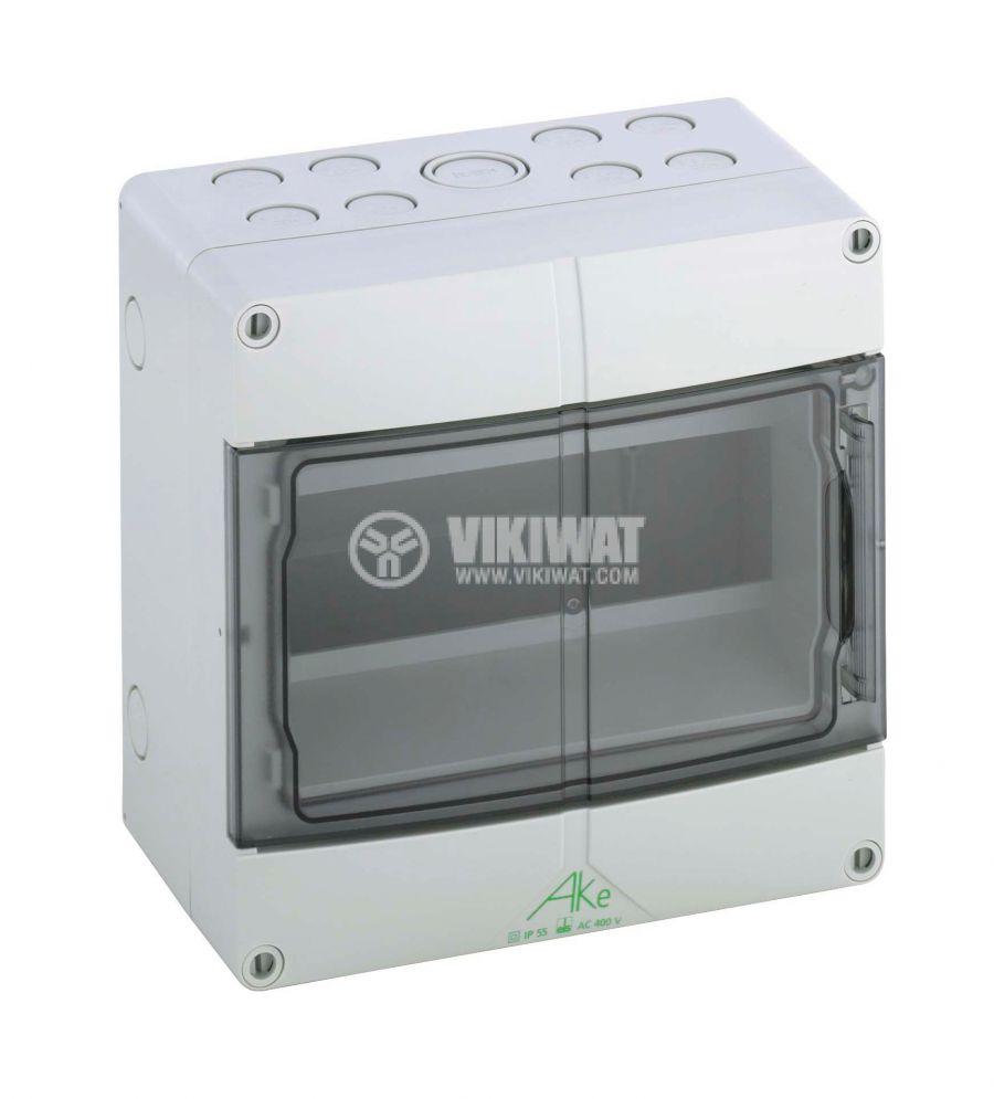 Апартаментно табло 73550901 9 модула за вътрешен монтаж IP55 бял цвят
