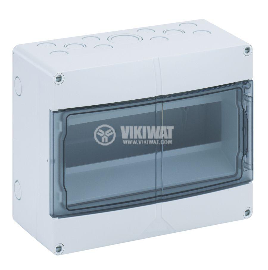 Апартаментно табло 73551201 12 модула за вътрешен монтаж IP55 бял цвят