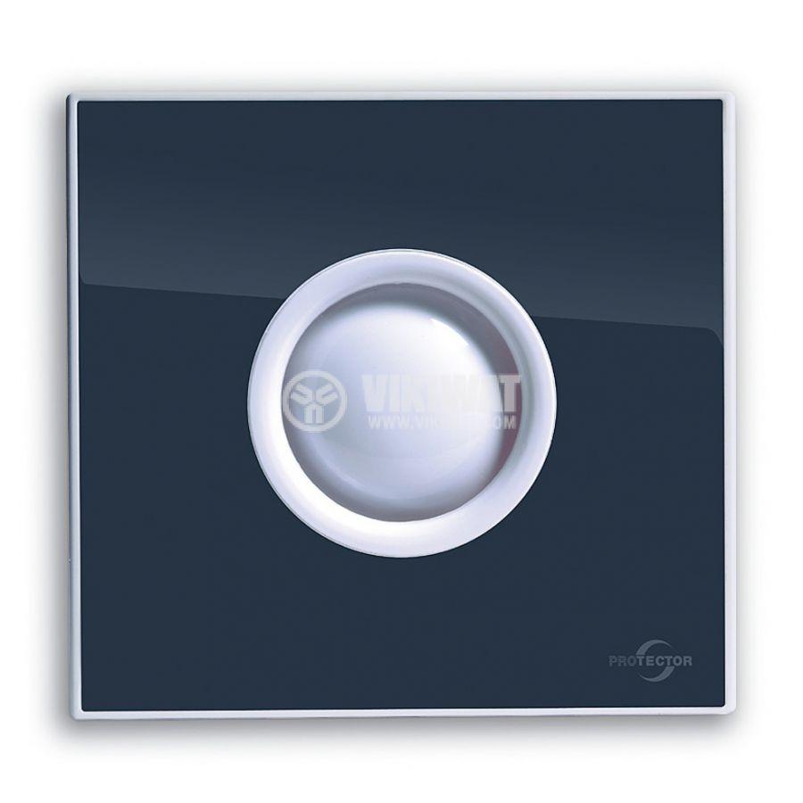 Вентилатор за баня M-E PROAIR 100 S-SG ф100mm 230V 15W 75m3/h сив