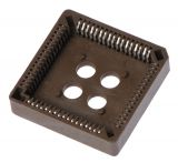 Socket for integrated circuit, PLCC-68, SMT - 1